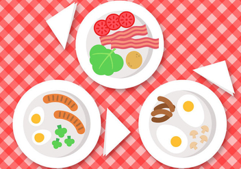 Free Breakfast Vector - бесплатный vector #391463