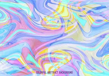 Pastel Vector Abstract Marble Background - Kostenloses vector #391943