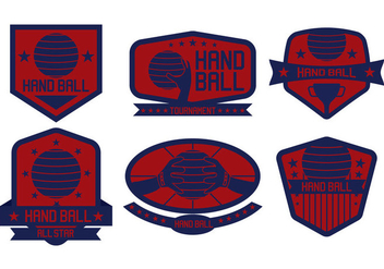 Handball Vector - бесплатный vector #392073