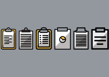 Prescription Pad Vector Pack 1 - бесплатный vector #392773