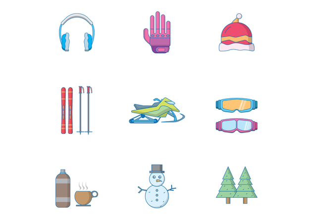 Free Winter Icon - Kostenloses vector #392833