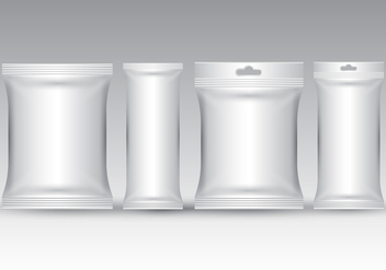 Free Realistic Sachet Packaging Vector - Kostenloses vector #392853