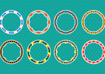 Hula hoop Icons - Free vector #393463