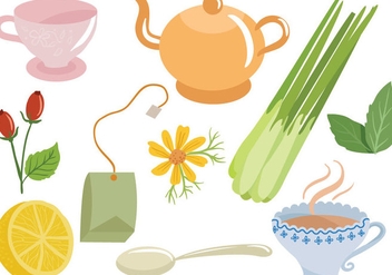 Free Tea Vectors - Kostenloses vector #394043