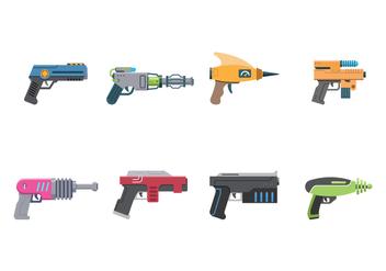 Free Laser Gun Vector - Free vector #394193
