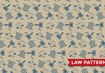 Justice Law Pattern Vector - vector #394223 gratis