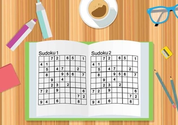 Free sudoku Illustration - Free vector #394313