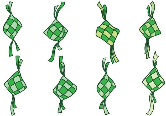Free Ketupat Vector - Free vector #394563