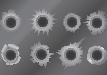 Free Metal Tear Icons Vector - vector gratuit #394623