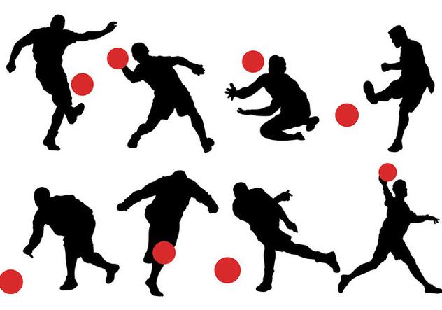 Free Kickball Icons Vector - Free vector #394633
