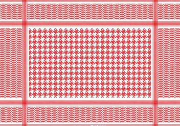 Free Classical Keffiyeh Vector Pattern - Free vector #394703