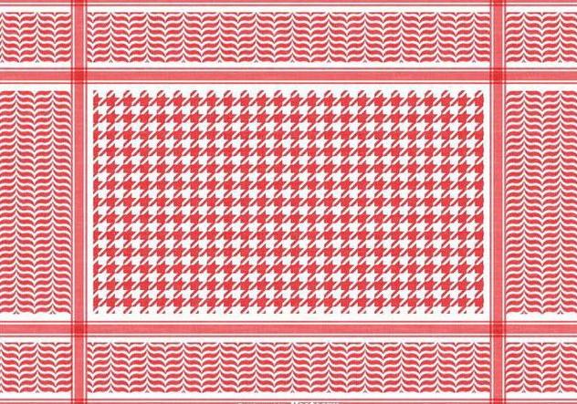 Free Classical Keffiyeh Vector Pattern - Free vector #394703