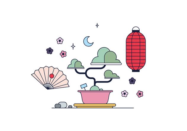Free Bonsai Vector - Free vector #394903