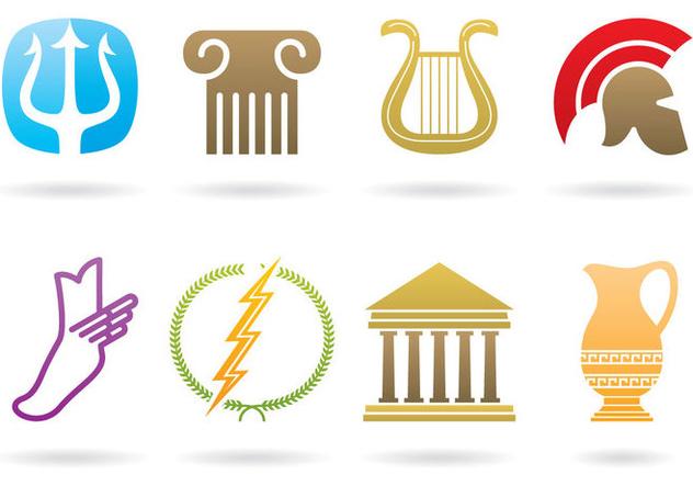 Greek Logos - Free vector #395283
