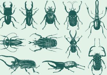 Strange Bugs - vector #395383 gratis