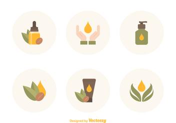 Free Argan Oil Vector Icons - vector #395413 gratis