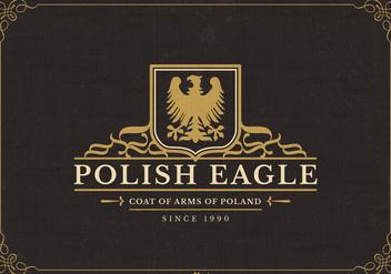 Free Polish Eagle Vector Logo - бесплатный vector #395423