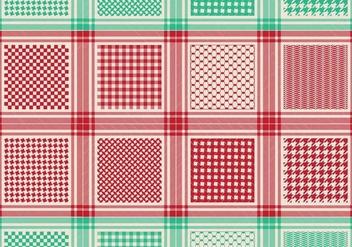 Classical Keffiyeh Pattern - Free vector #395993