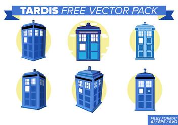 Tardis Free Vector Pack - Free vector #396013