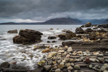 Elgol Rocks - Free image #396653