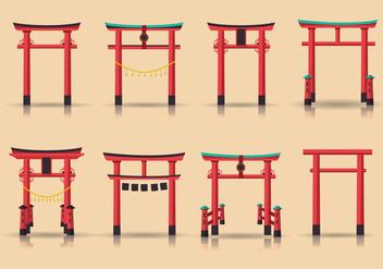 Torii Vector Structures - Free vector #396963