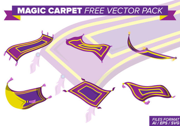 Magic Carpet Free Vector Pack - Kostenloses vector #397663