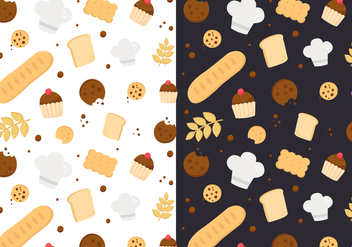 Free Bakery Pattern Vector - Free vector #397863