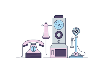 Free Phones Vector - vector #398113 gratis