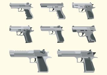 Gun Glock Vectors - Free vector #398433