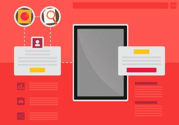Portal User Identity - vector #398693 gratis