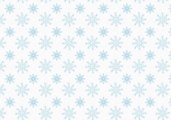 Free Vector Snowflakes Pattern - Free vector #399613