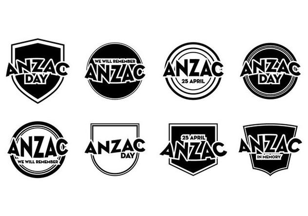 Free Anzac Day Badge Vector - Free vector #399843