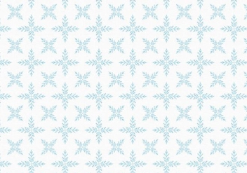 Free Vector Snowflakes Pattern - Free vector #399873