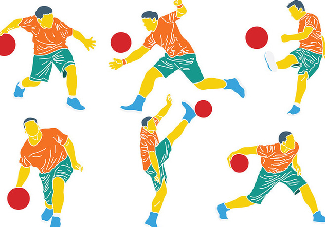 Free Kickball Icons Vector - vector #399903 gratis