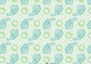 Cashmere Seamless Pattern Vector - Free vector #400293