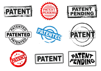 Patent Grunge Stamp Vectors - Free vector #401003