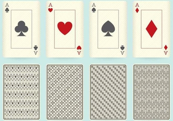 Playing Card Designs - Kostenloses vector #401103