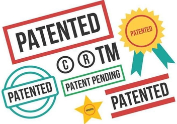 Free Patent Stamp Vector - Kostenloses vector #402043