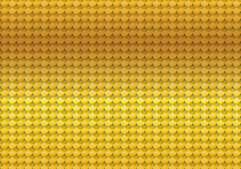 Sequin Gold Seamless Pattern - vector gratuit #402503