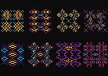 Songket Pattern - Free vector #402563