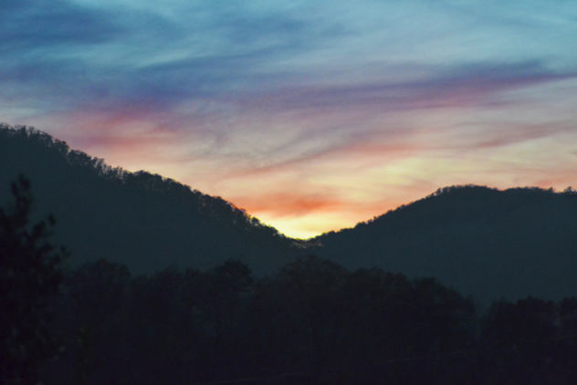 11-26-16 evening clouds Rich Mountain Gap - Free image #403503