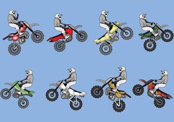 Free Dirt Bikes Vector - Free vector #403783