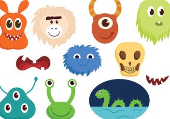 Free Monsters Vectors - Free vector #403803