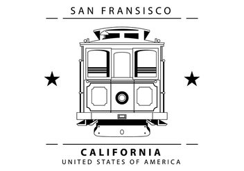 Cable Car Illustration - Kostenloses vector #403913