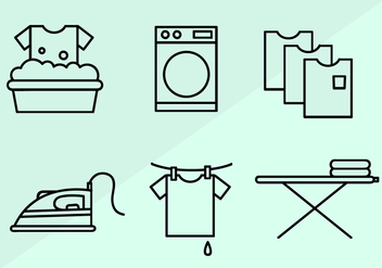 Free Laundry Vector - Free vector #404273