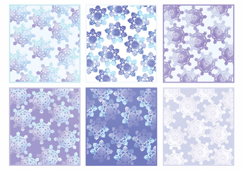 Vector Watercolor Winter Cards - vector gratuit #404293