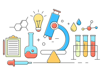 Free Chemistry Icons - Free vector #404553
