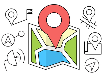 Free GPS Icons - Kostenloses vector #404583