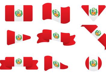 Peru Flag - бесплатный vector #404713