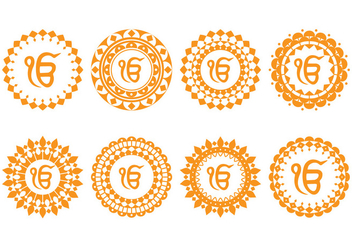 Guru Ornament - vector #404723 gratis